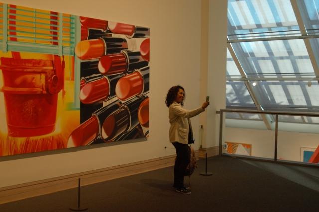 MOMA lady 2
